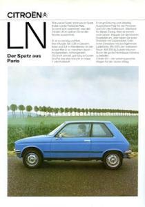 Citroen LN Prospekt 9.1978