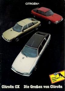 Citroen CX Prospekt 9.1981