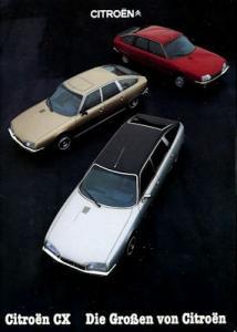 Citroen CX Prospekt 10.1980