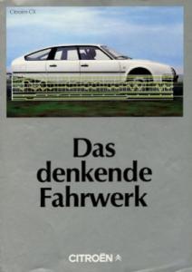 Citroen Fahrwerk Prospekt 3.1982