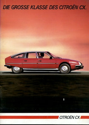 Citroen CX Prospekt 7.1984 0