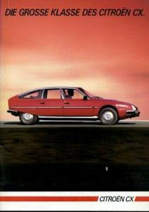 Citroen CX Prospekt 7.1984