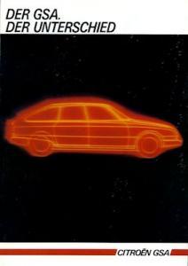 Citroen GSA Prospekt 7.1984
