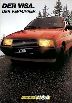 Citroen Visa Prospekt 7.1983 0