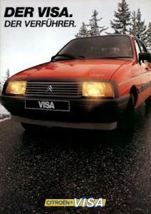 Citroen Visa Prospekt 7.1983
