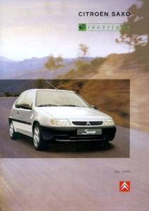 Citroen Saxo Electrique Prospekt ca. 1998
