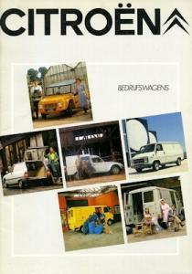 Citroen Bedrijfswagens Programm 1982 nl