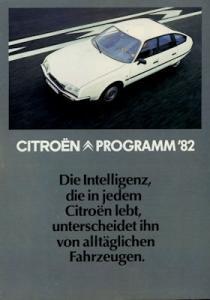 Citroen Programm 2.1982