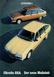 Citroen GSA Prospekt 11.1980