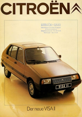Citroen Visa II Prospekt 3.1981 0
