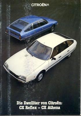 Citroen CX Reflex / Athena Prospekt 11.1980 0