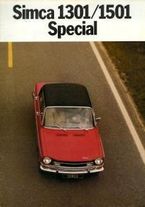 Simca 1301 1501 Prospekt 1975