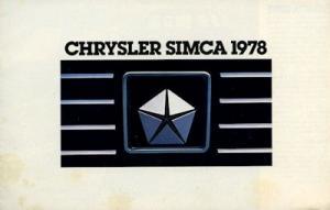 Simca Programm 8.1977