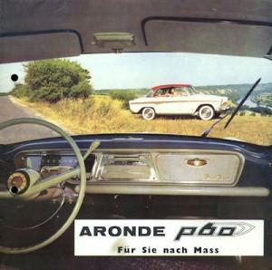 Simca Aronde P 60 Programm ca. 1960