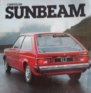 Chrysler Sunbeam Prospekt 8.1978