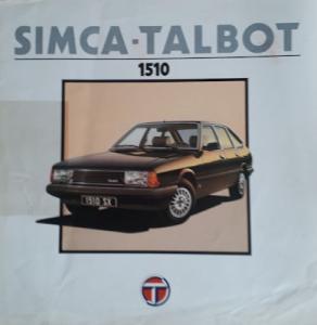 Talbot 1510 Prospekt 9.1979