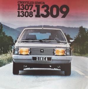 Chrysler 1307 1308 1309 Prospekt 8.1978