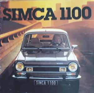 Simca 1100 Prospekt 8.1978