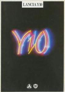 Lancia Y 10 Prospekt 3.1985