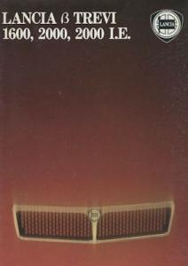 Lancia Beta Trevi 1600 2000 2000 I.E. Prospekt ca. 1980