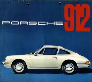 Porsche 912 Prospekt 3.1965