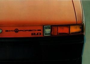 Porsche 914 Prospekt ca. 1970