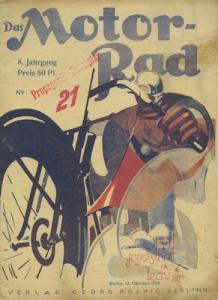 Das Motorrad 1928 Heft 21