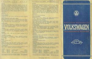 VW Käfer Prospekt 1947