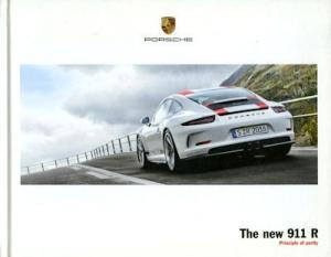 Porsche 911 R Prospekt 3.2016 e