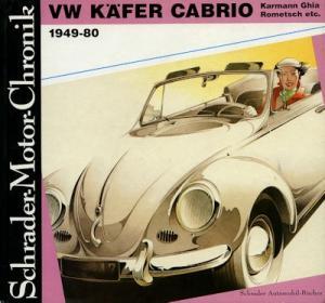 Schrader Motor Chronik VW Käfer Cabriolet 1986