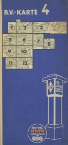 B.V. Karte 4 1930er Jahre