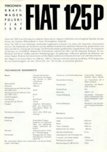 Warszawa 223 Programm ca. 1969