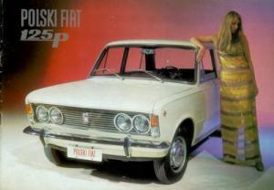 Polski Fiat 125 P Prospekt 1970er Jahre f