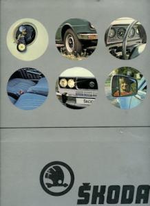 Skoda Programm-Mappe ca. 1980 cz