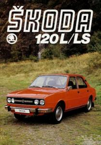 Skoda 120 L/LS Prospekt ca. 1980
