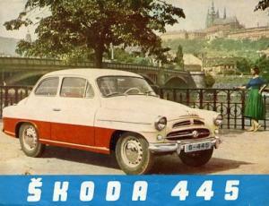 Skoda 445 Prospekt 1959