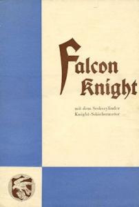 Willys Overland Falcon Knight Prospekt 1920er Jahre