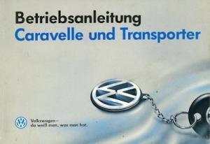 VW T 4 Bedienungsanleitung 8.1993