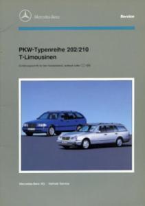 Mercedes-Benz Typ 202 / 210 T-Limousinen Reparaturanleitung 1.1996