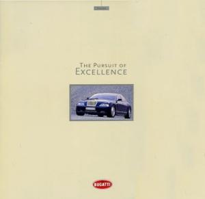 Bugatti EB 218 Prospekt Preview 1999