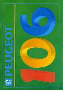 Peugeot 106 Prospekt ca. 1992