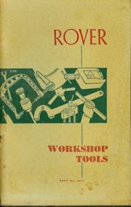 Rover Werkstattwerkzeuge ca. 1970 e