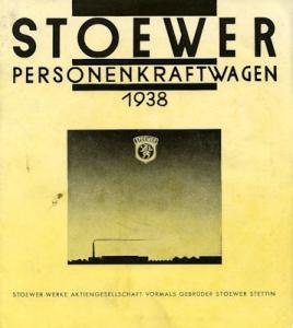 Stoewer Programm 1938