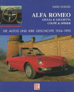 David Hodges Alfa Romeo 1954-1995 von 1996