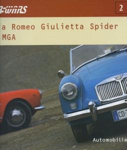 Bruno Alfieri Alfa Romeo Giulietta Spider VS MGA 2003