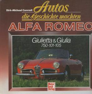 Dirk-Michael Conradt Autos, die Geschichte machten Alfa Romeo 1990