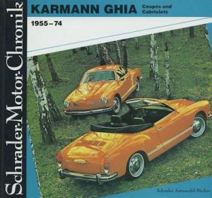 Schrader Motor Chronik VW Karmann Ghia 1955-1974 von 1990