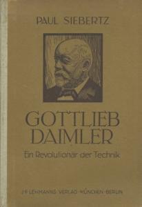 Paul Siebertz Gottlieb Daimler 1942