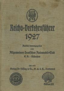 ADAC Reichs-Verkehrsführer 1927