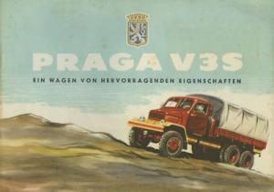 Praga V 3 S Prospekt 1957
